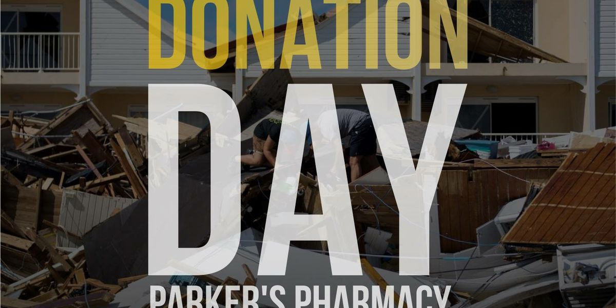 Parker's Pharmacy hosts donation day for victims of Florence