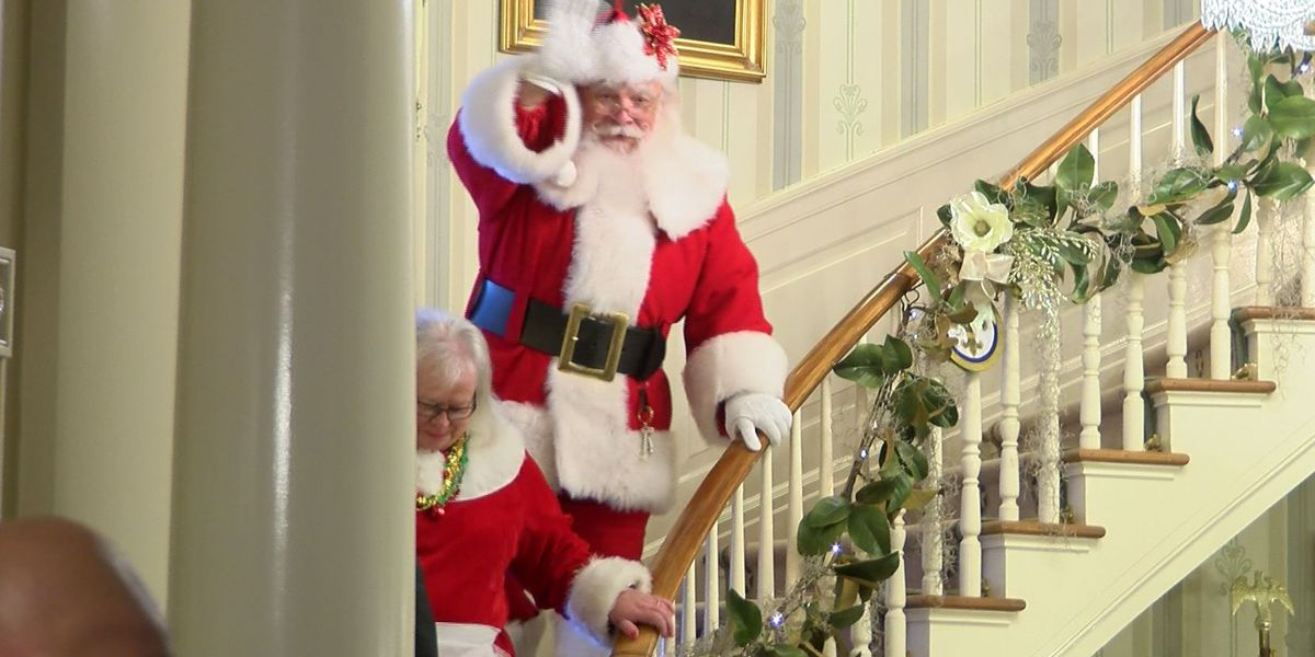 Governor's Mansion prepares for holiday season