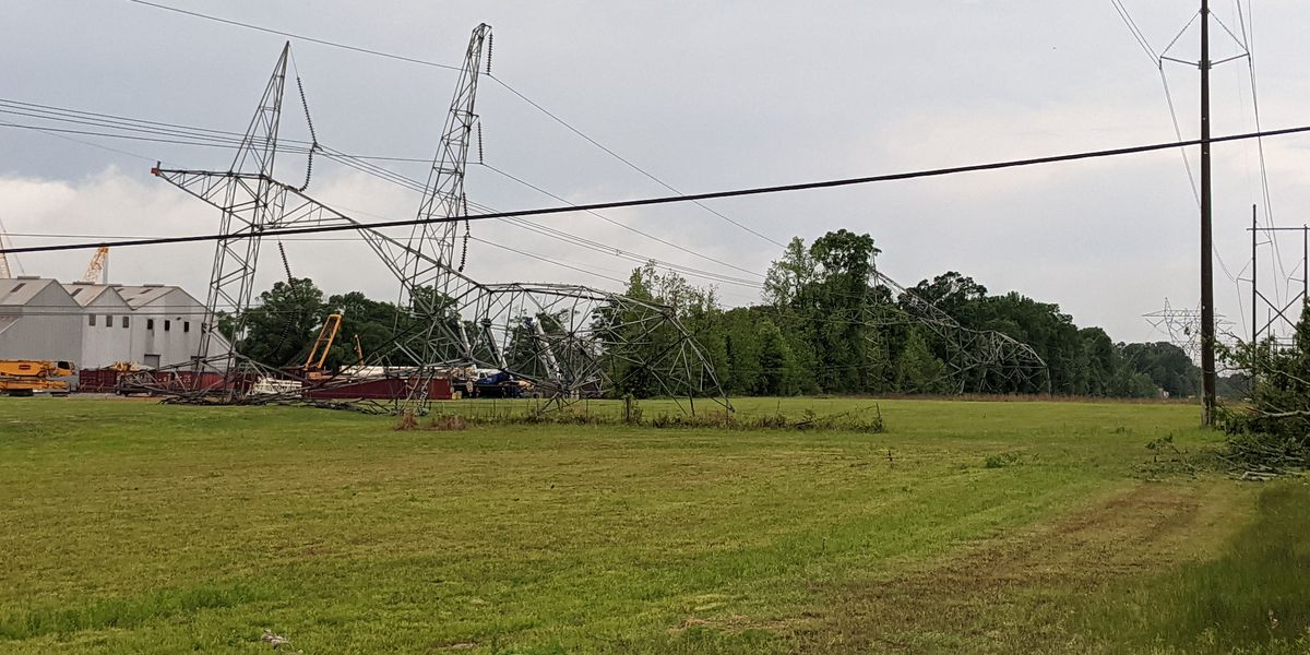 Overnight storms lead to road closure, power outages