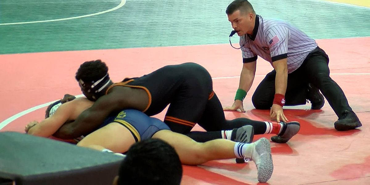 2021 LHSAA Wrestling State Tournament begins at Raising Cane's River Center