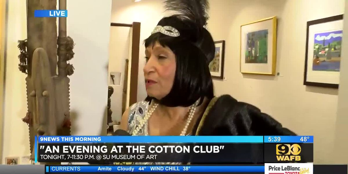 "SU Museum of Art to host ""An Evening at the Cotton Club"" - 5:30 a.m."