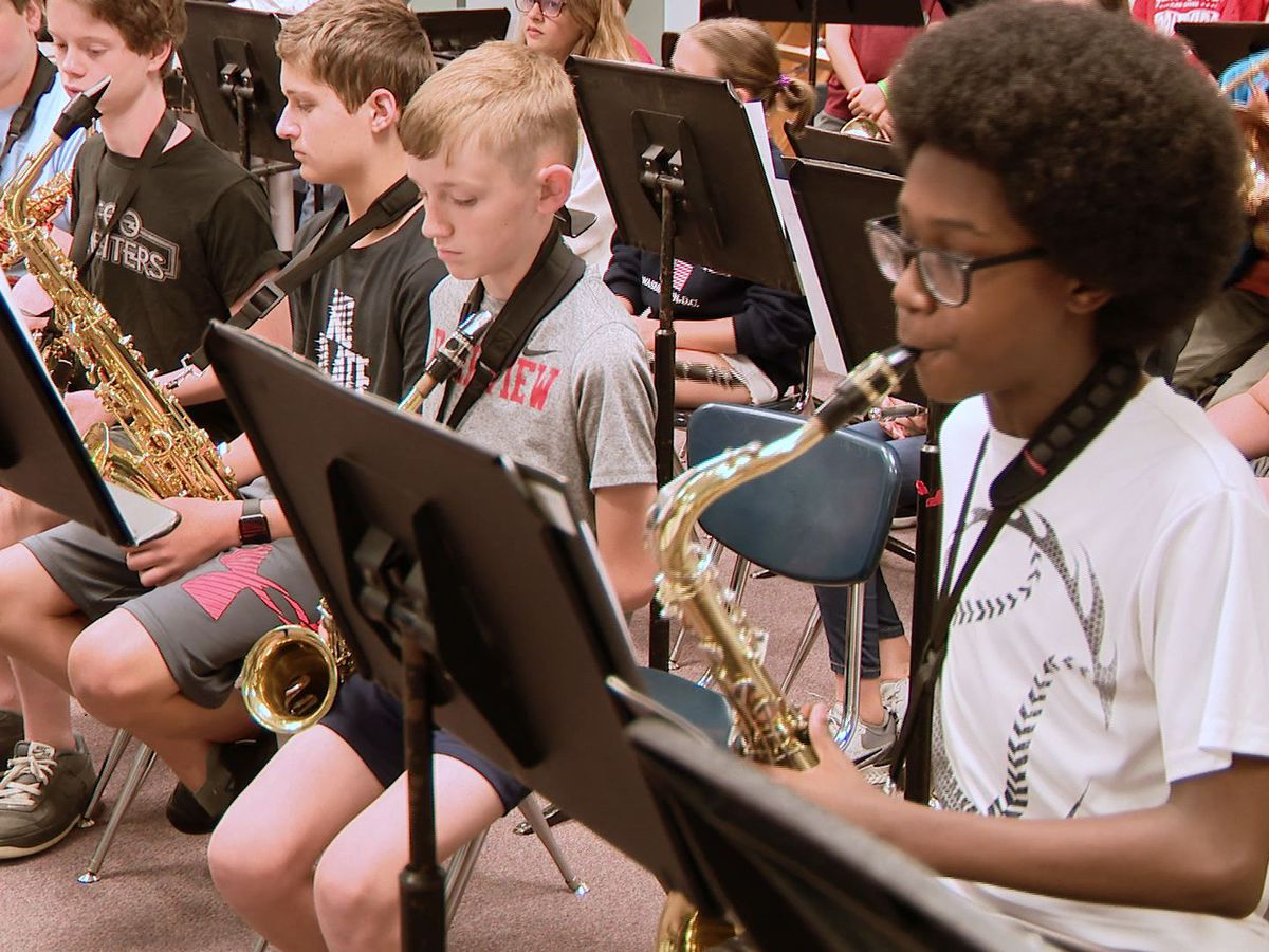 Young musicians learn to improvise at summer jazz camp