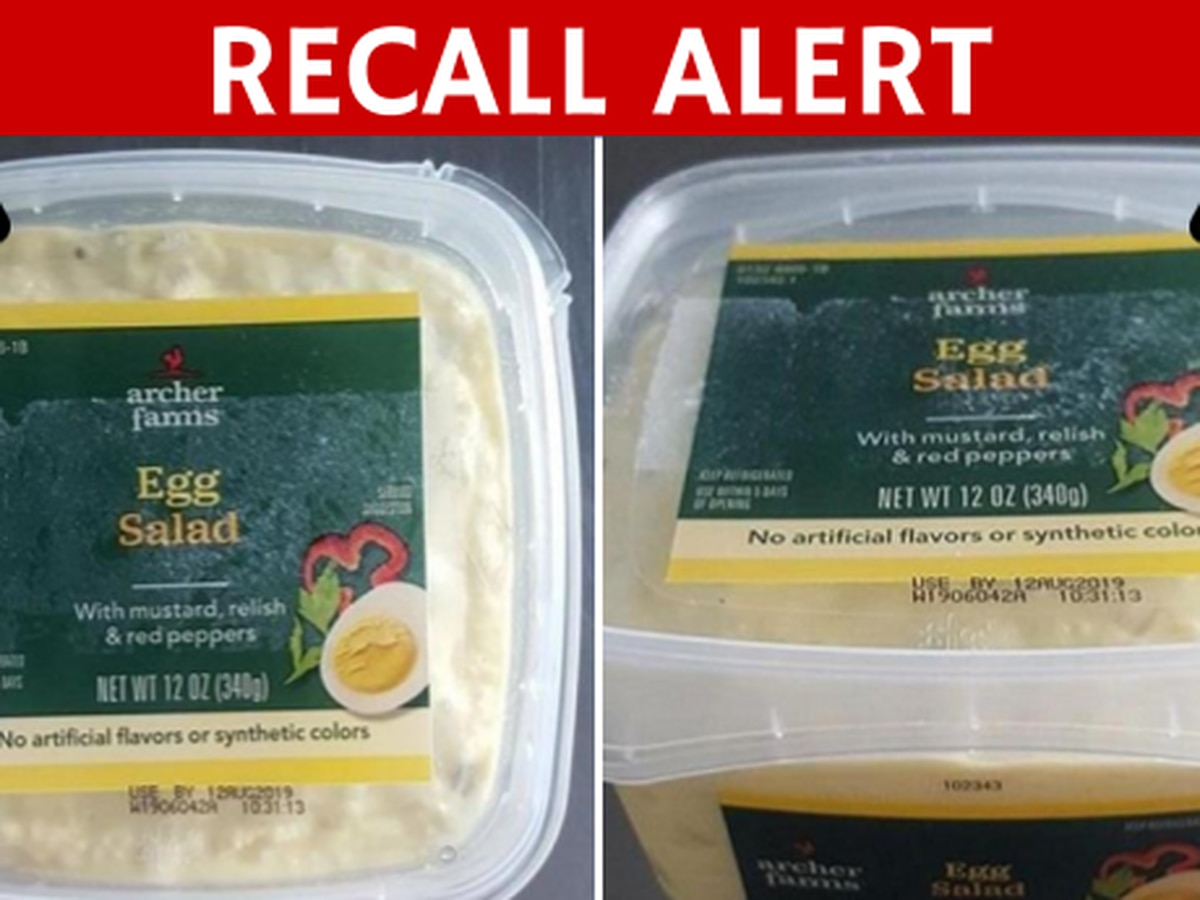 Listeria prompts recall of packaged salads, sandwiches sold at Fresh Market, Target