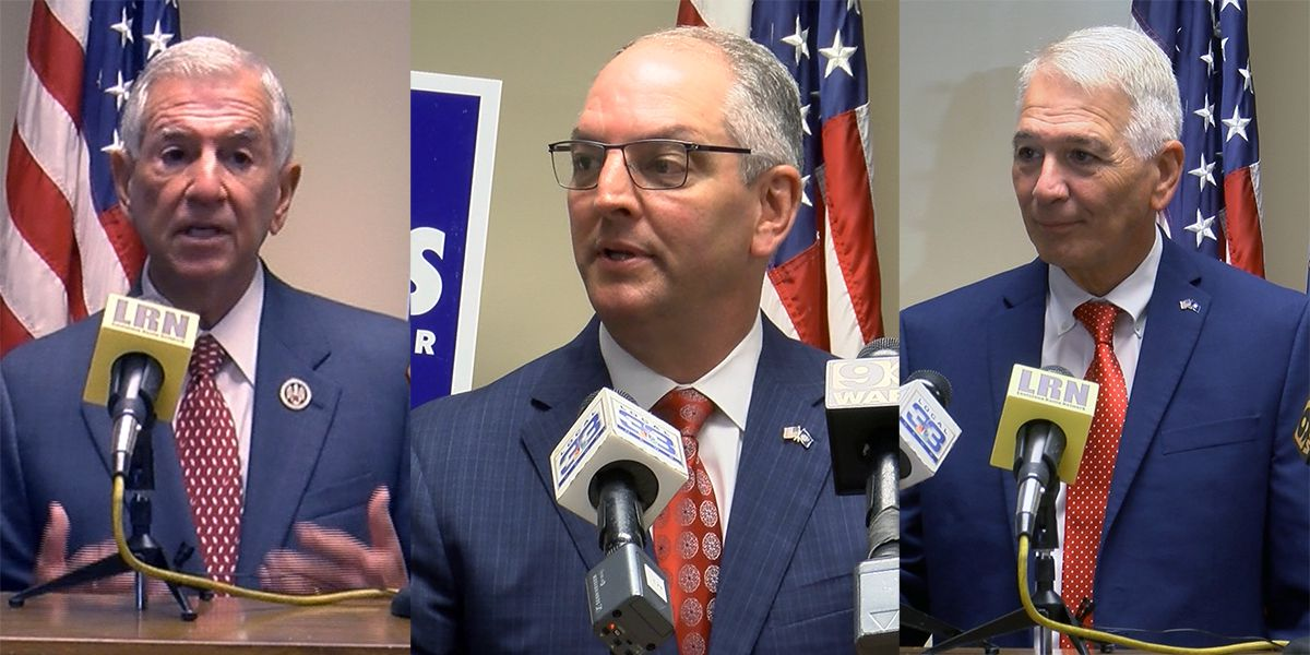 All 3 big names officially running for governor; here's where the race stands