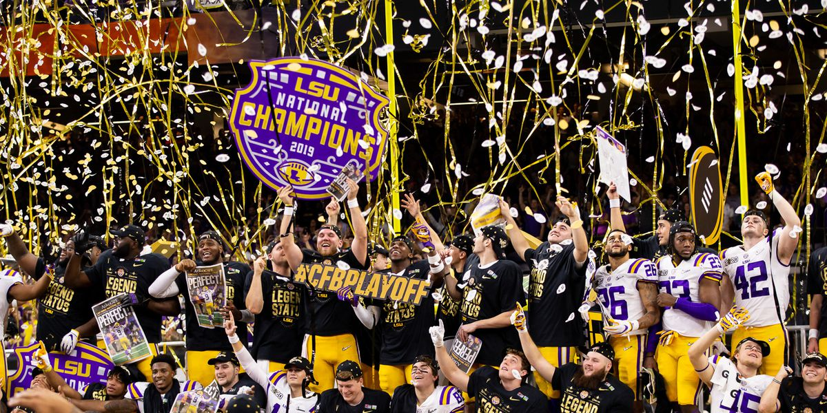 No. 1 LSU defeats No. 3 Clemson in CFP National Championship