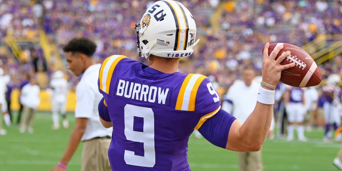 LSU QB Joe Burrow wins Camp, O'Brien, Maxwell awards