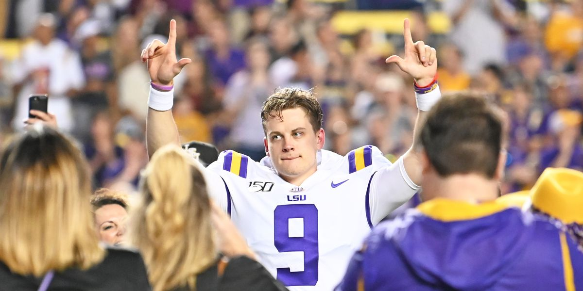 LSU remains No. 2 in CFP rankings ahead of SEC championship