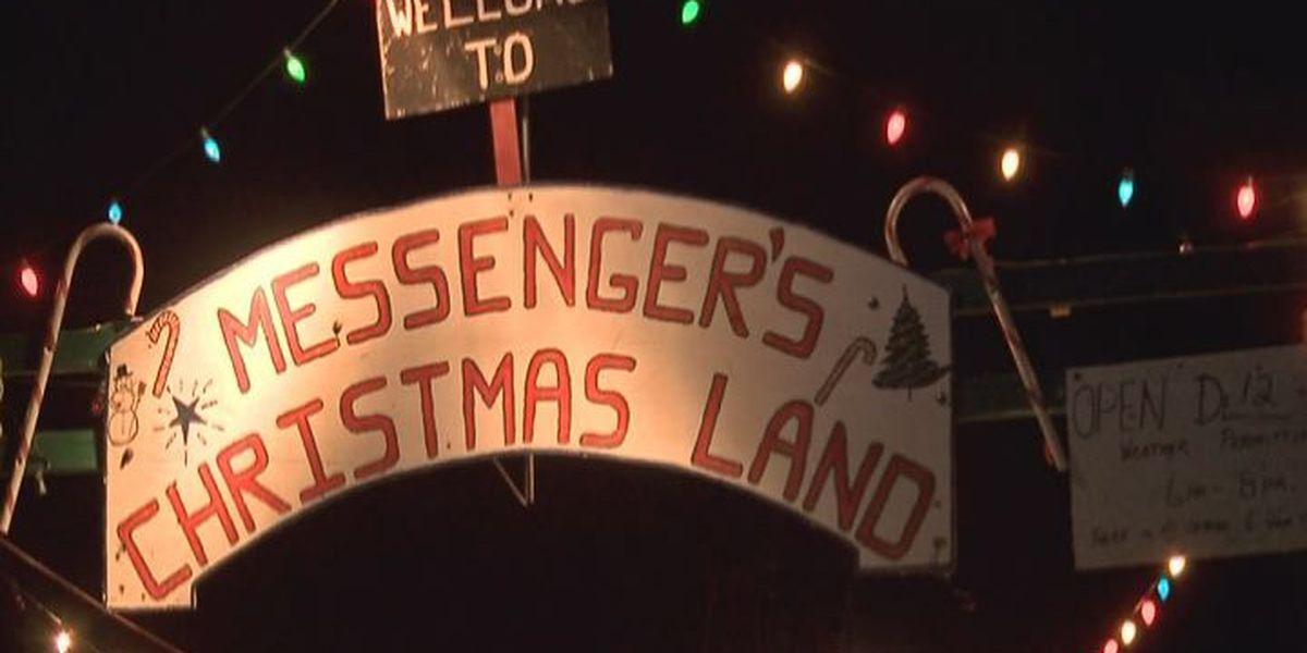 Christmas attraction in Denham Springs draws hundreds