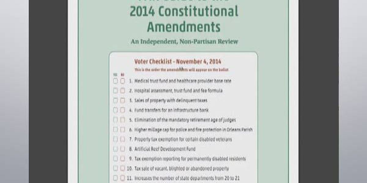 Constitutional Amendment 11 looks to add one more state department