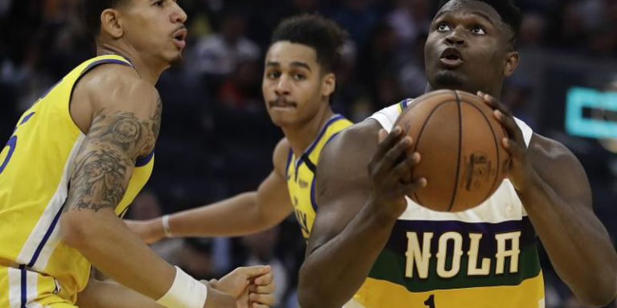 Holiday, Williamson keep Pelicans rolling in 115-101 win