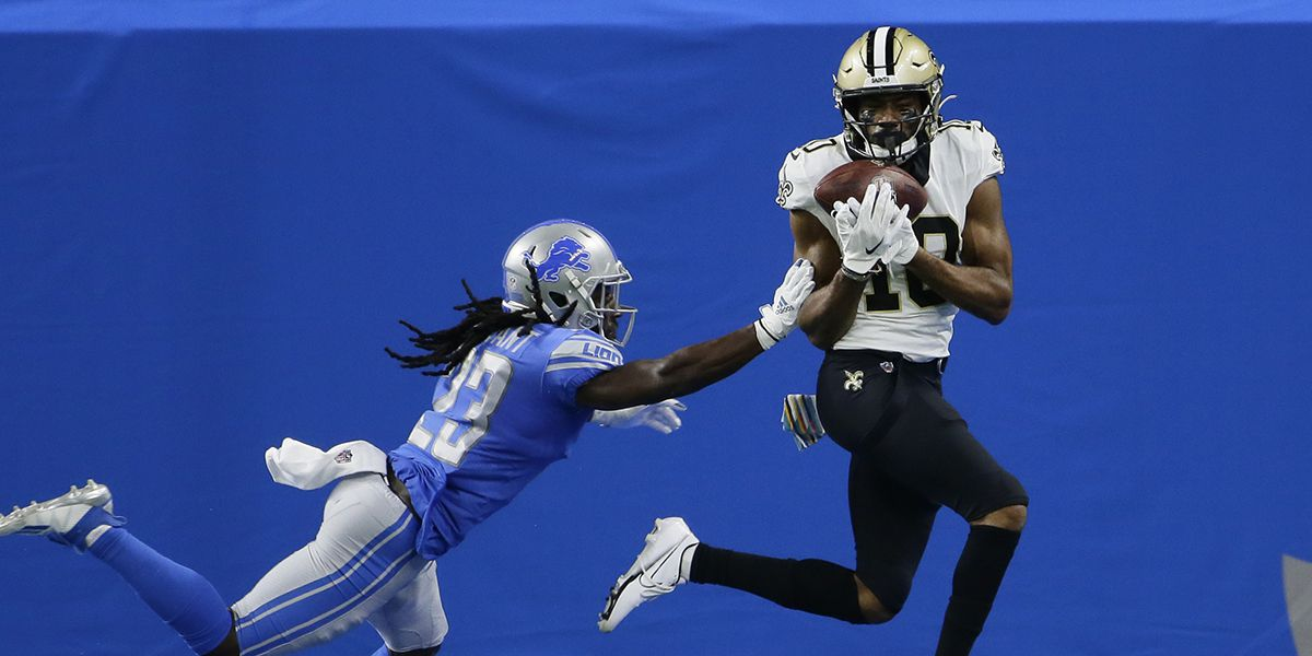 Saints wide receivers step up with Michael Thomas out with injury