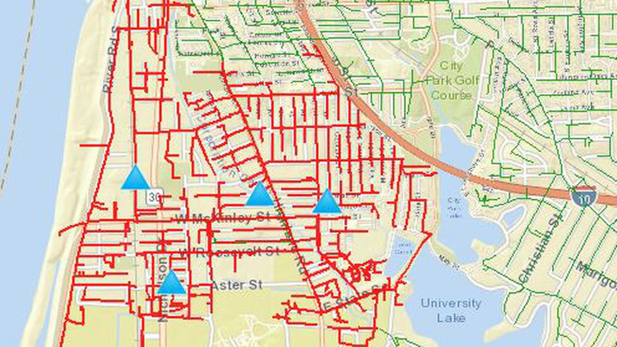 Large area near LSU without power after transformer fails