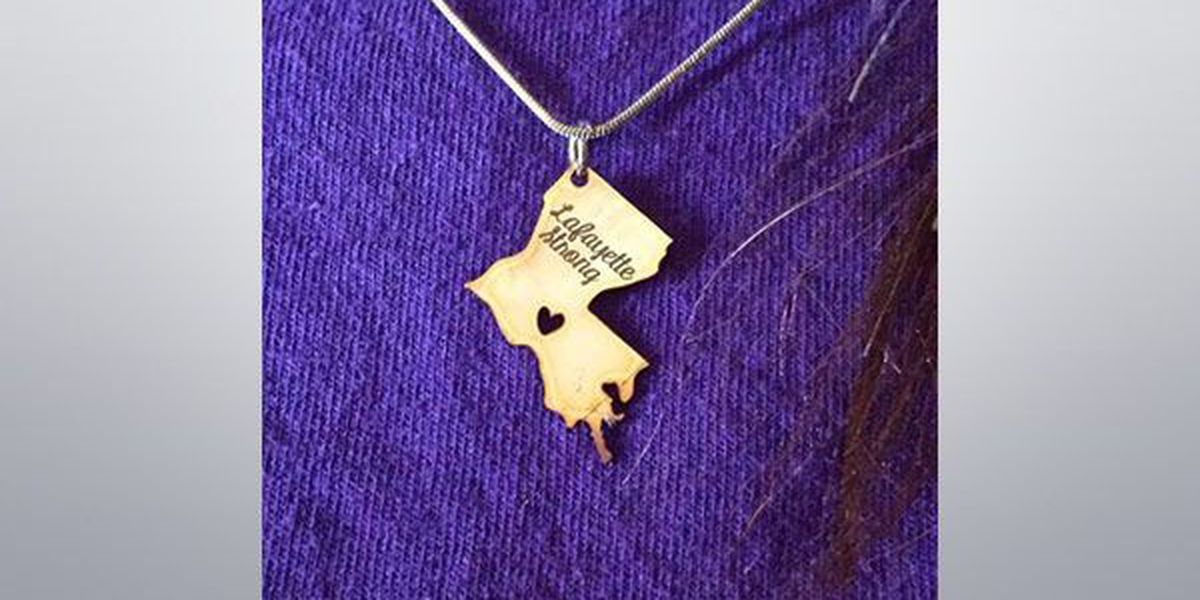 'Lafayette Strong' charms to raise money for theater shooting victims