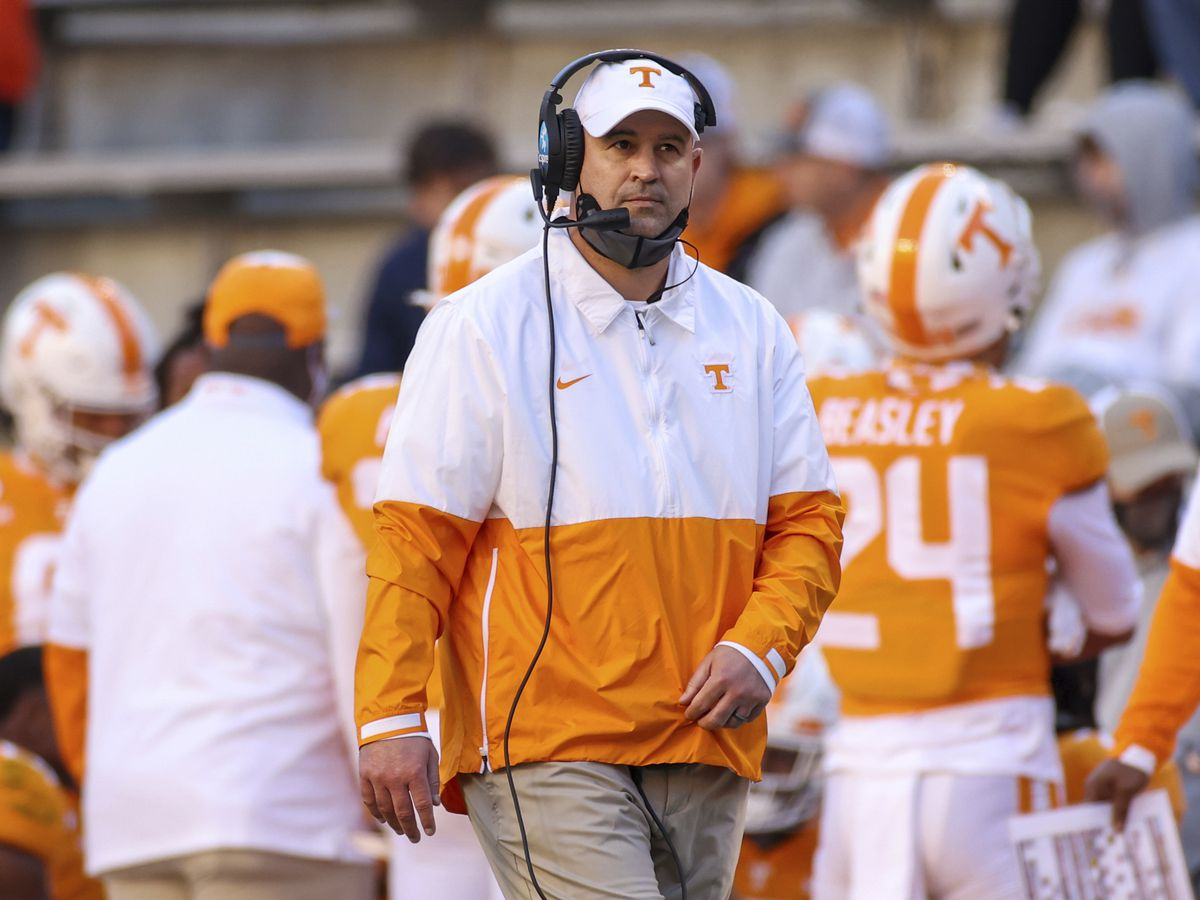 Jeremy Pruitt fired as Tennessee head football coach, acting head coach named