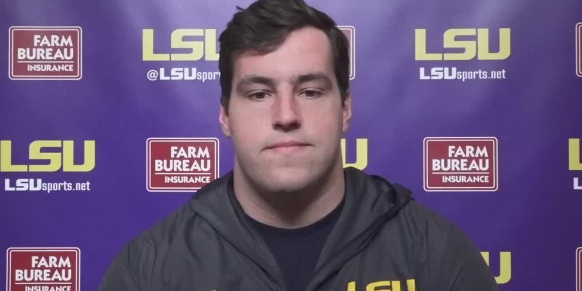 LSU Center Liam Shanahan - 9/29/20 (Full Interview)