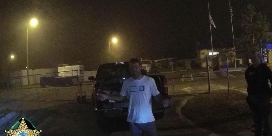 Florida man shows off dance moves during field sobriety test