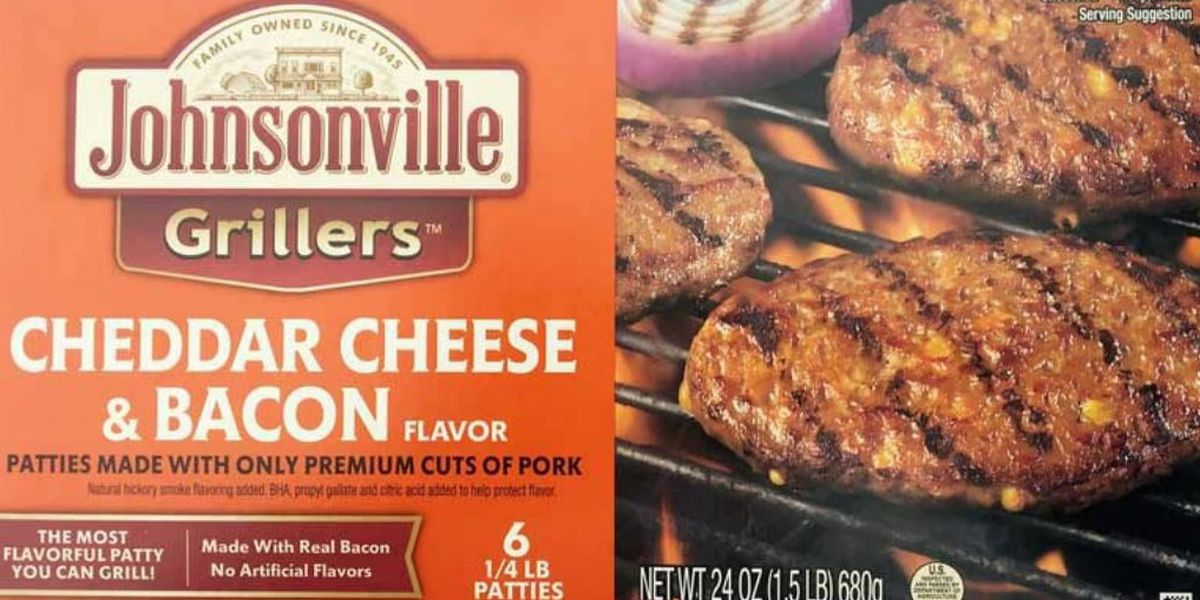 Pork patty products recalled over possible black rubber contamination