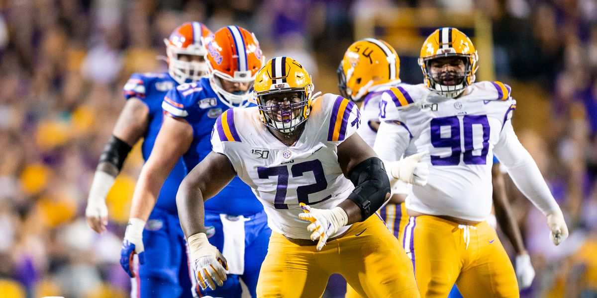 2021 NFL Draft: LSU DT Tyler Shelvin drafted in the 4th round, No. 122 overall by Cincinnati Bengals