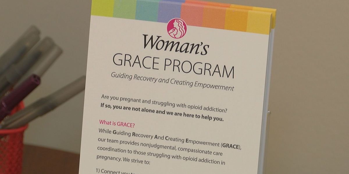 Woman's GRACE program gets federal boost to help mothers addicted to opioids