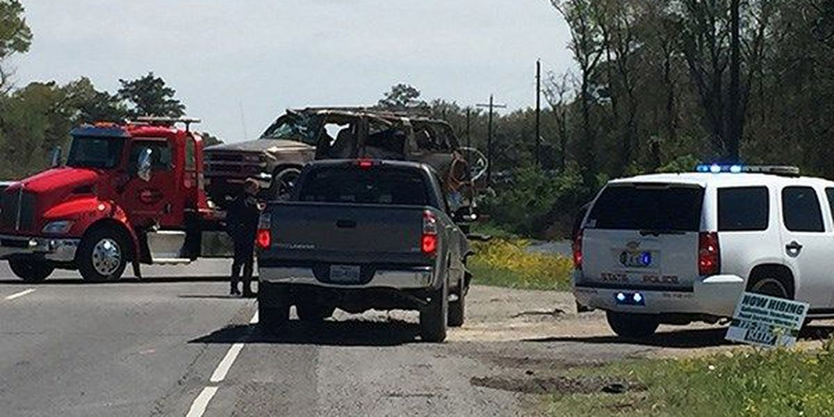 One person killed, another seriously injured in 2 vehicle crash in Ascension Parish