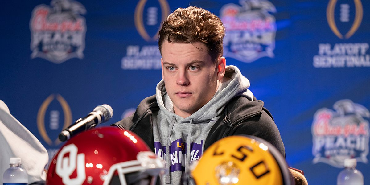 Burrow and Hurts: QBs take center stage at CFP Semifinal media conferences