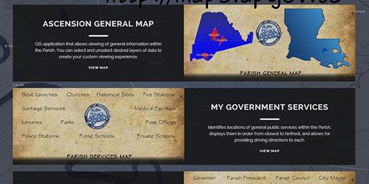 In-depth mapping website opens in Ascension Parish