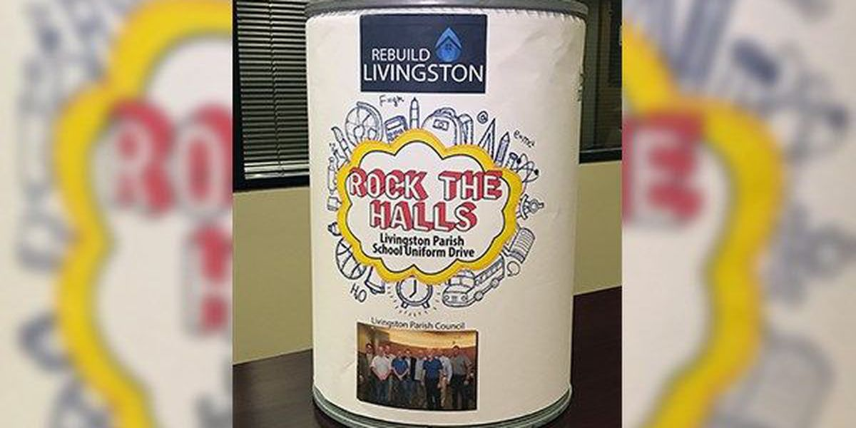 Livingston Parish to hold uniform drive to benefit families still recovering from Aug. flood