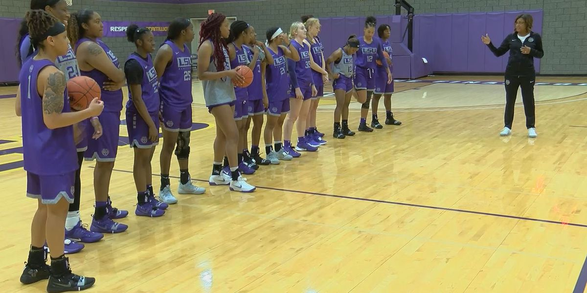 LSU women's basketball starts practice for 2019-2020 season