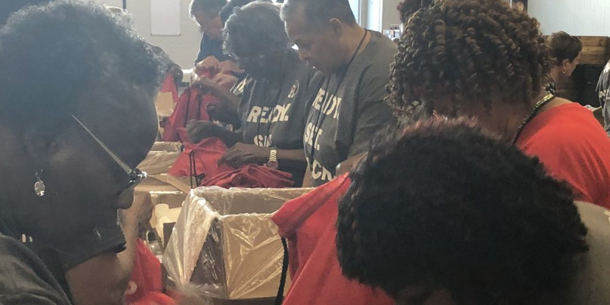 AARP & AARP Foundation host event to pack emergency kits for local senior citizens