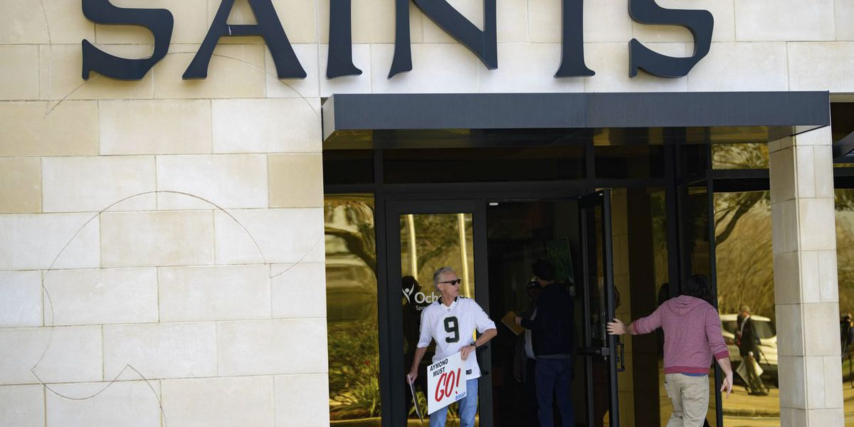 Victims of priest sexual abuse respond to Saints owner's statement on email