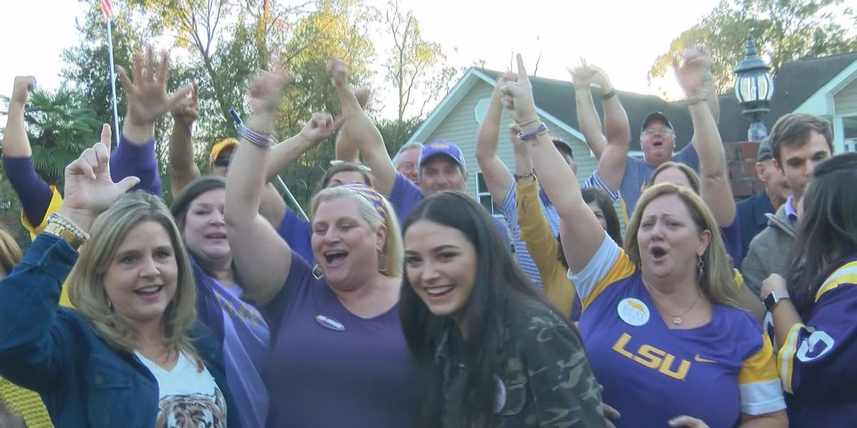 Gonzales family celebrates long-awaited LSU victory over Alabama during 40-year tailgating party tradition