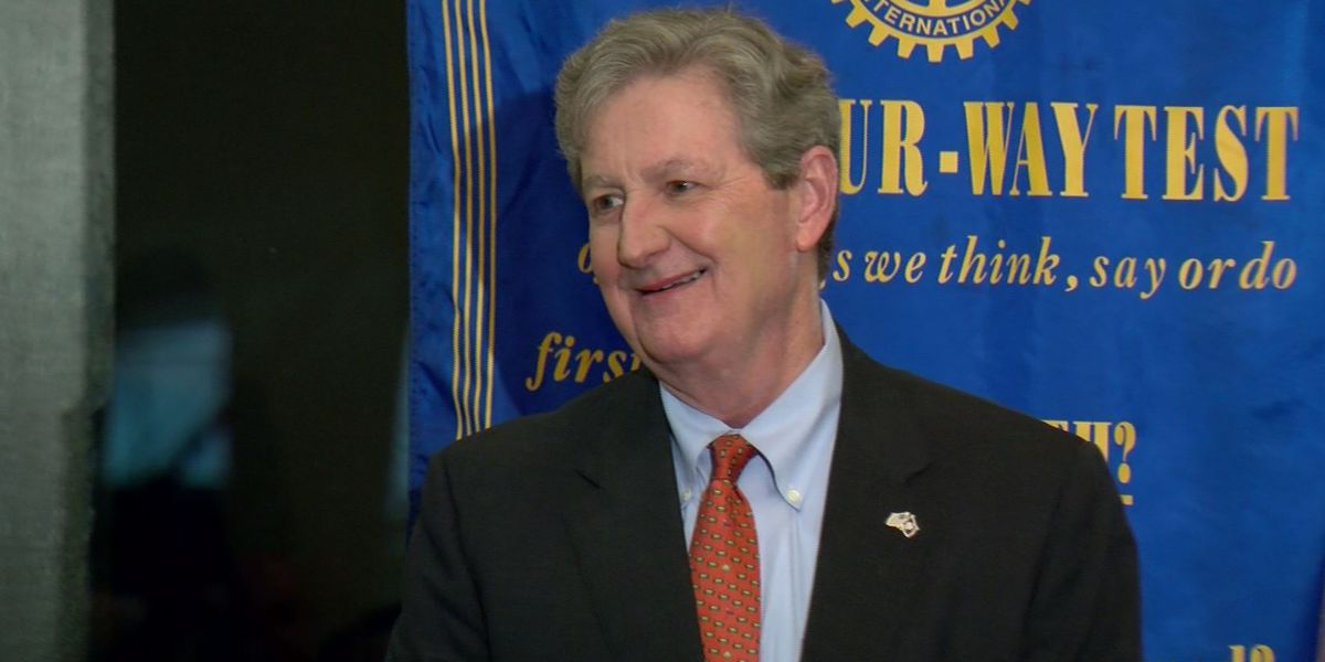Sen. Kennedy agrees with president that US needs to secure southern border