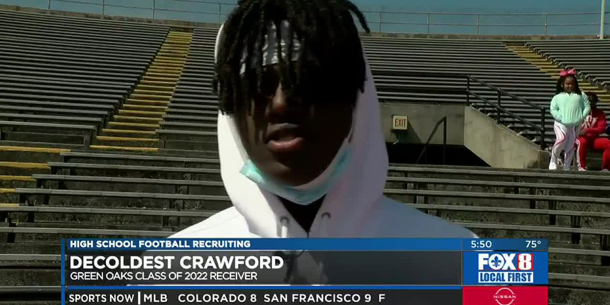Unique name and unique game highlight Decoldest Crawford's many attributes