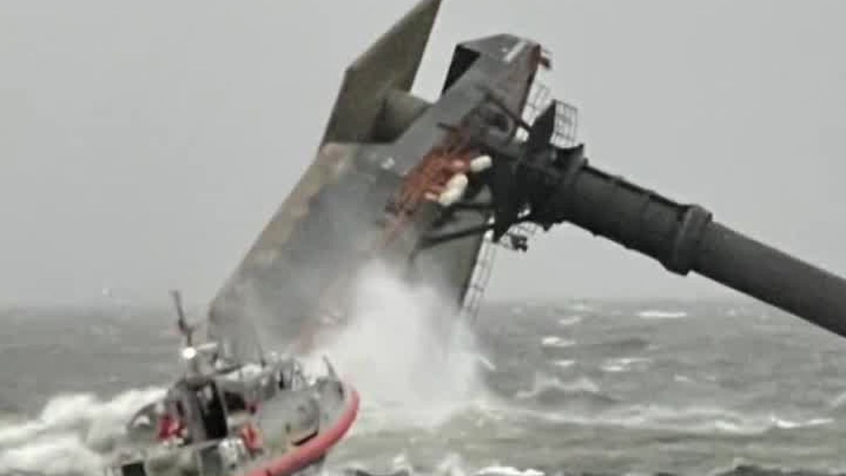 VIDEO: Coast Guard to suspend search and rescue operations at sunset; NTSB investigating