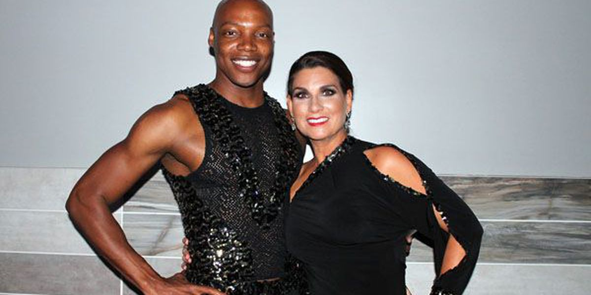 WAFB's Cheryl Mercedes shows off her dancing skills for a good cause