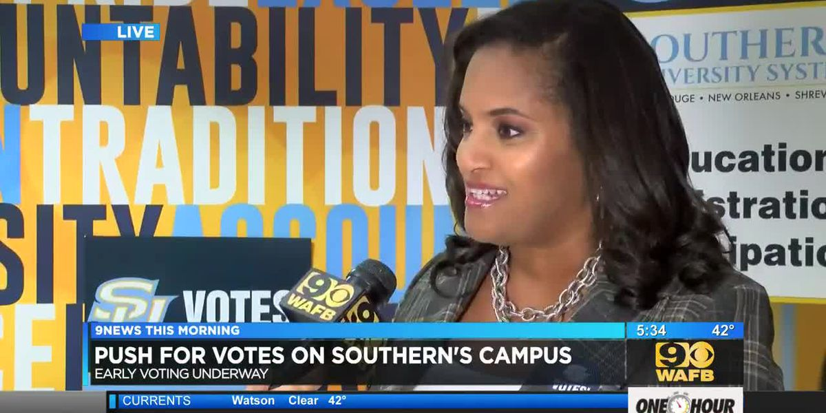SU hosts 'Prowl to the Polls' to encourage students to early vote - 5:30 a.m.