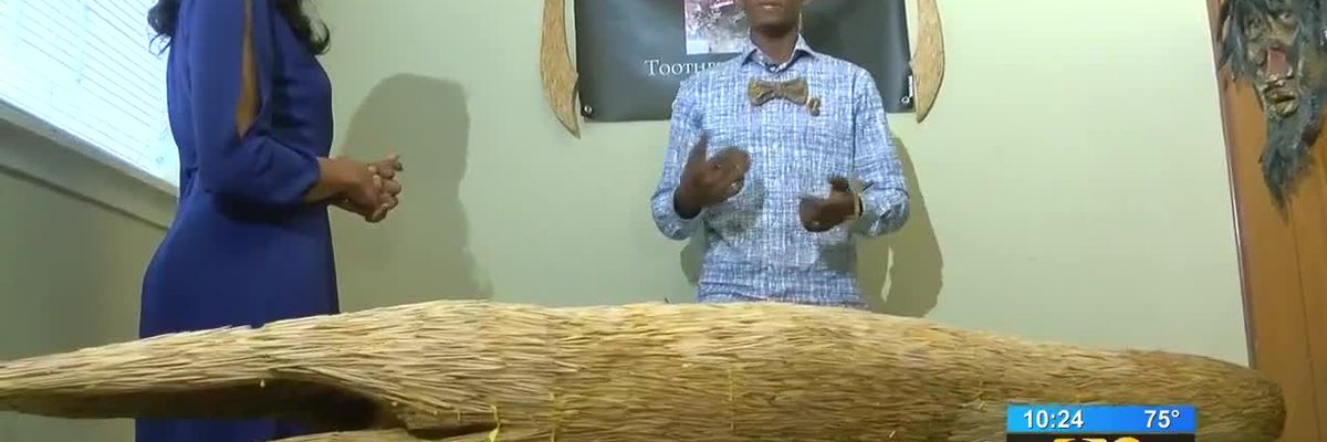 SHOWCASING LOUISIANA: Man uses creative talent to make sculpture from toothpicks