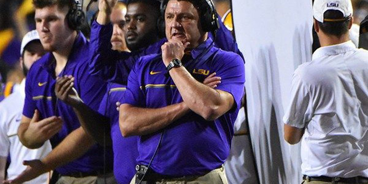 LSU makes Kirk Herbstreit's 'early, early, early' preseason top 5