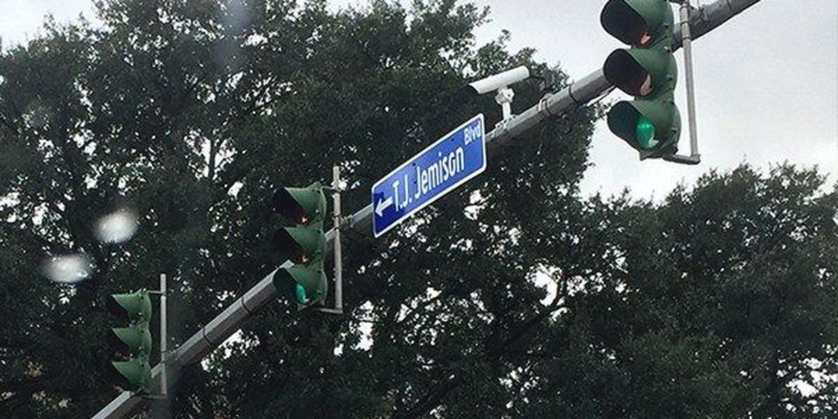 Baton Rouge street gets historic name