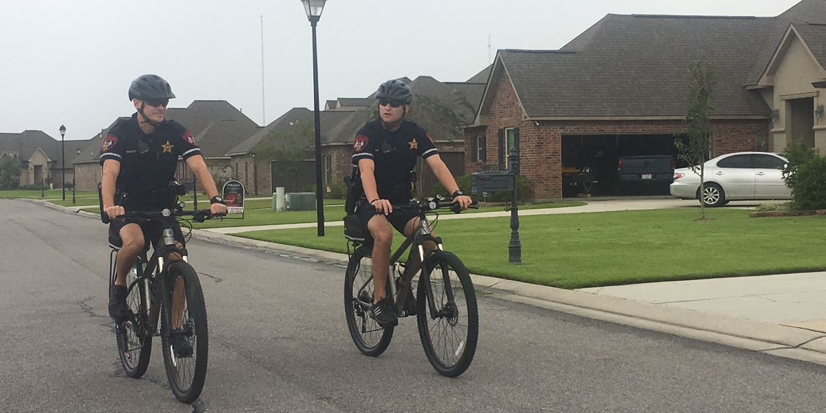 Ascension Parish bike patrols helping to fight crime