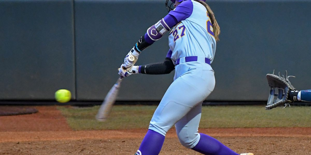 LSU softball run-rules Kent State, 8-0, in 5 innings