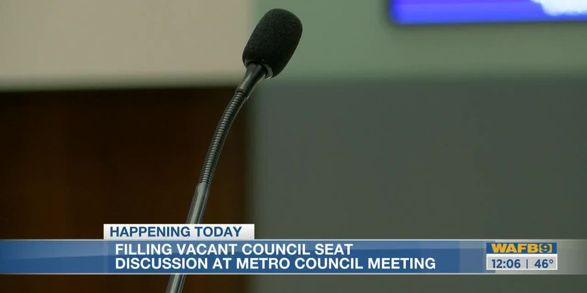 Metro Council will vote to fill vacant seat