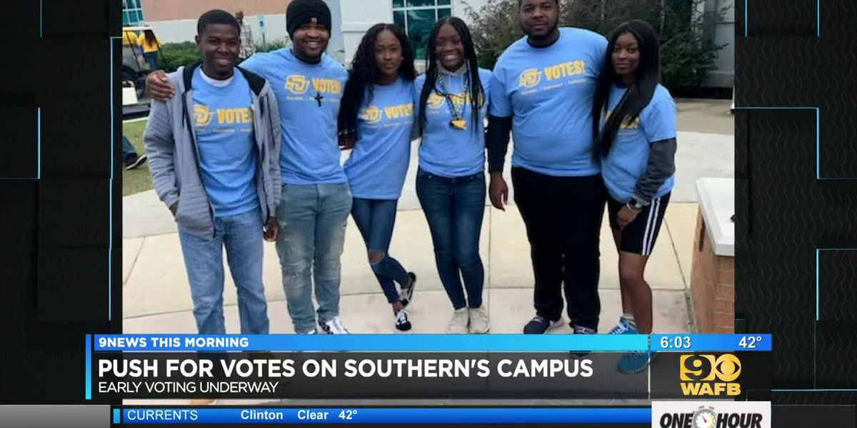 SU hosts 'Prowl to the Polls' to encourage students to early vote - 6 a.m.
