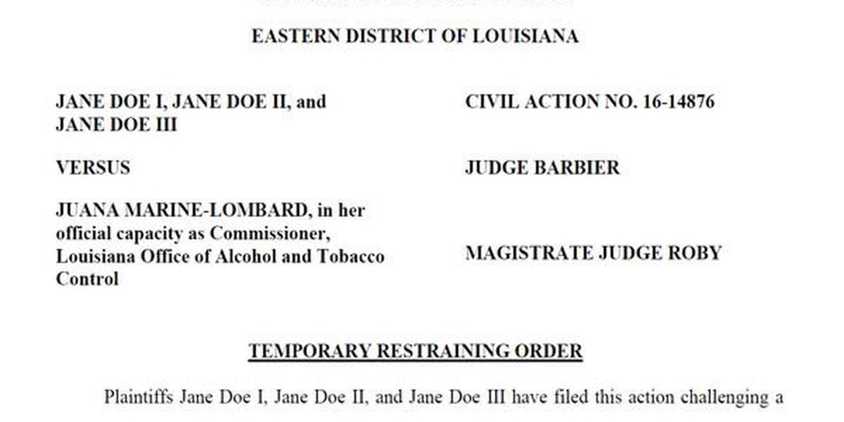 State tries to force exotic dancers involved in federal lawsuit to reveal identities