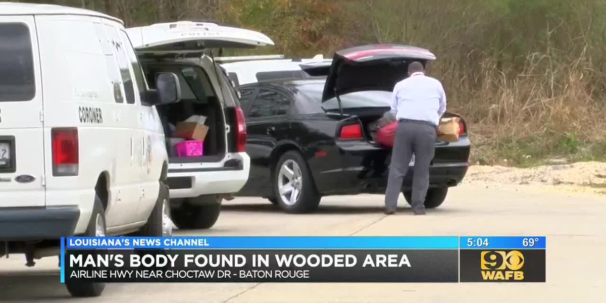 Man's body found in wooded area near Airline Highway