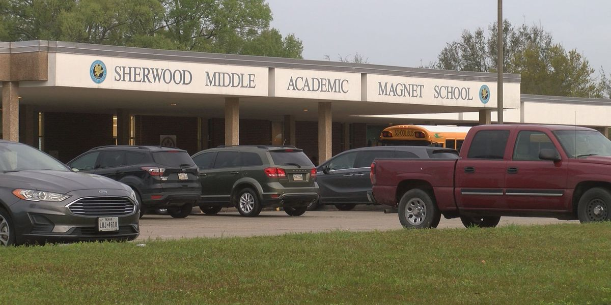 Child struck by vehicle in front of Sherwood Middle School