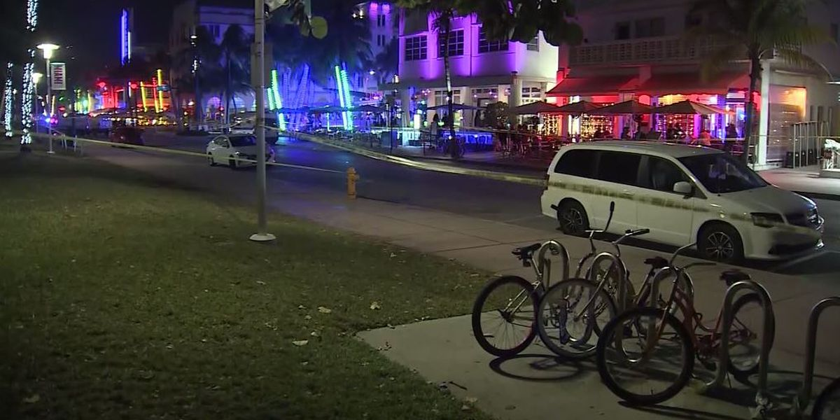 Police shooting in South Beach; Miami Beach officer stabbed