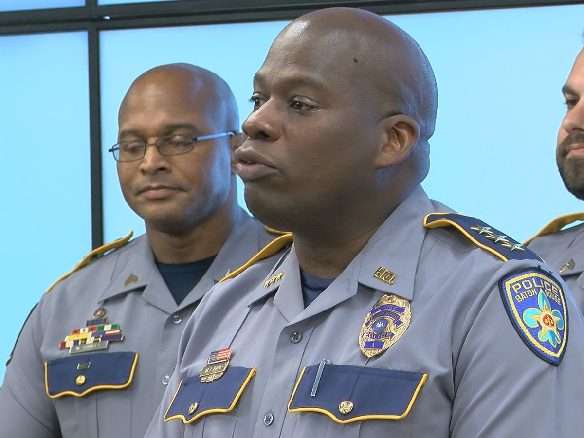 WATCH LIVE: BRPD holds news conference after 5 killed Friday in armed robberies, home invasion