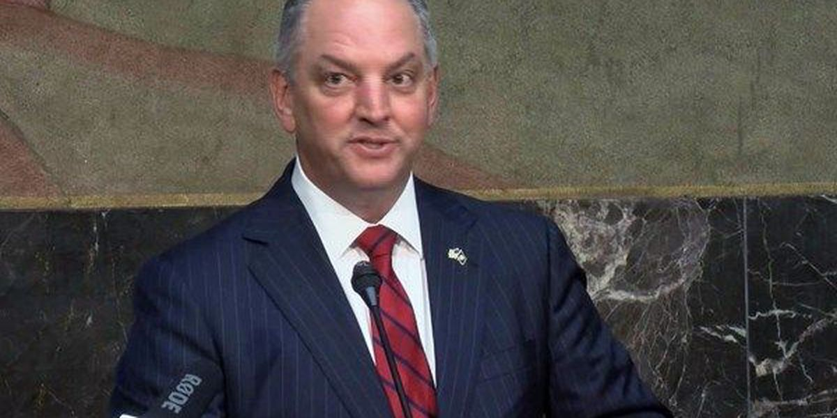 Gov. Edwards signs bills into law, vetoes some