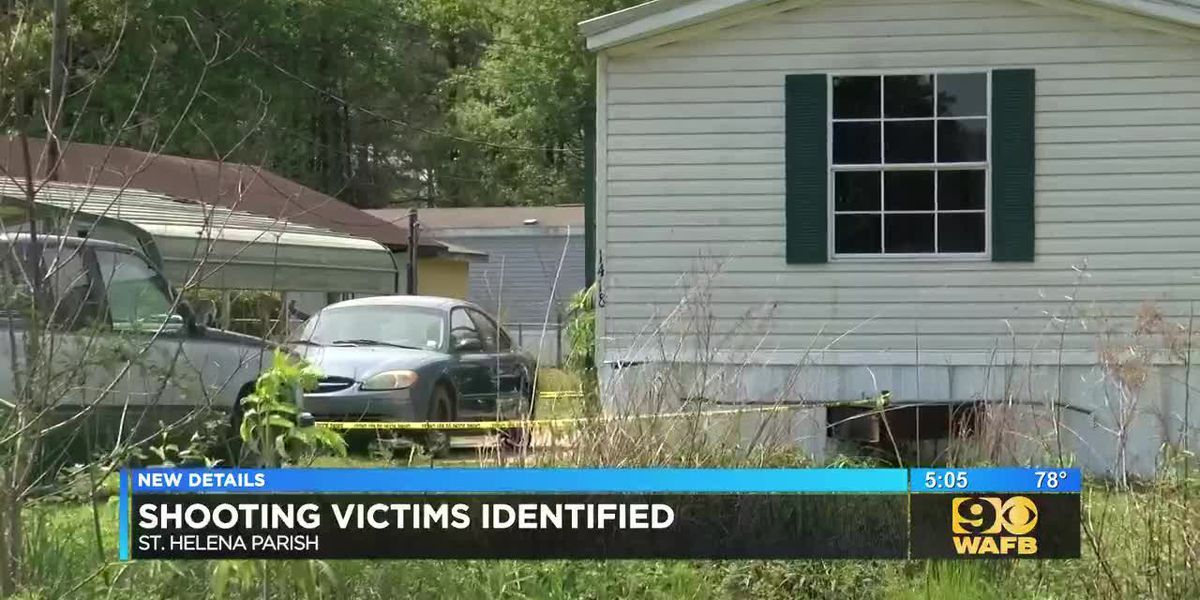 Two men shot to death in St. Helena Parish have been identified
